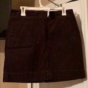 Adorable brown corduroy skirt ! Never worn